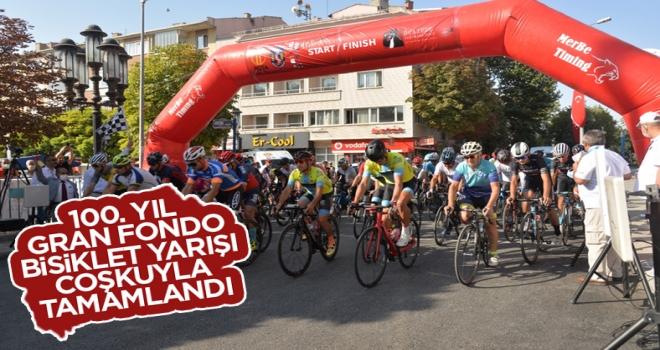 100. Yıl Gran Fondo Bisiklet Yarışı Coşkuyla Tamamlandı!