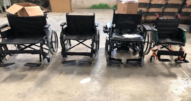 Büyükşehir'den Engelliler Gününde Akülü Tekerlekli Sandalye Desteği