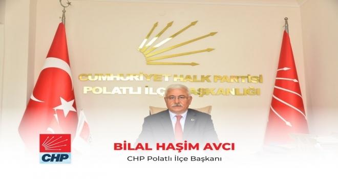 Avcı, '' 23 Nisan, Demokratik, Laik ve Çağdaş Cumhuriyet'e Sahip Çıkma Günüdür ''