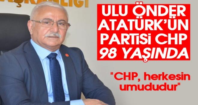 Başkan Avcı: CHP, herkesin umudu olmuştur!