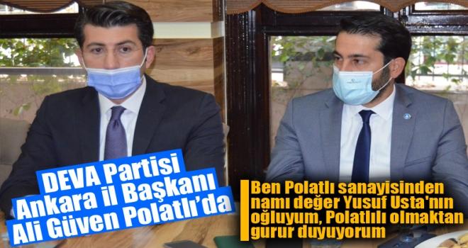 DEVA Partisi Ankara İl Başkanı Ali Güven Polatlı'da