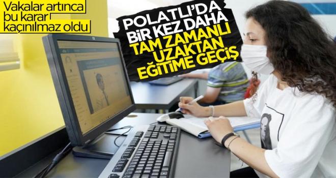 Polatlı'da uzaktan eğitimle ilgili karar alındı