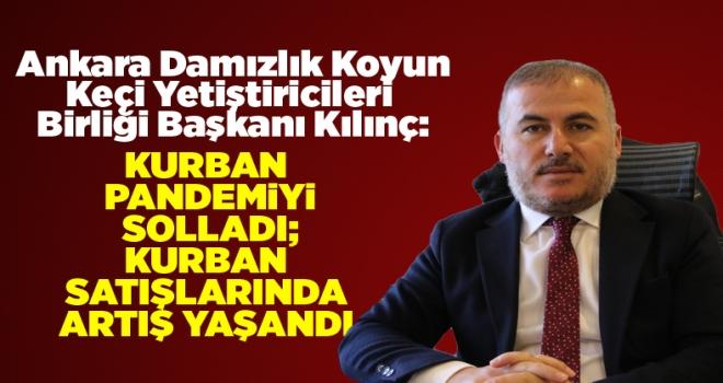 Ankara Damızlık Koyun Keçi Yetiştiricileri Birliği Başkanı Kılınç: Kurban satışlarında artış yaşandı!