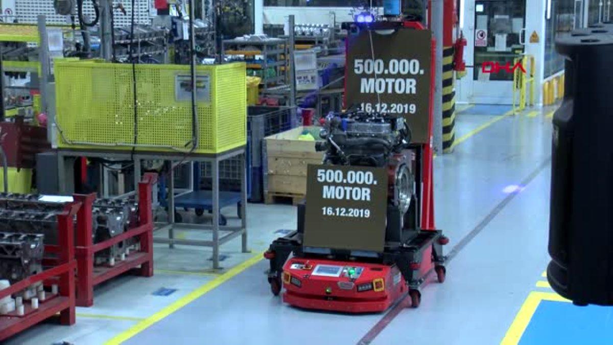 Türktraktör, 500 bininci yerli motorunu tanıttı
