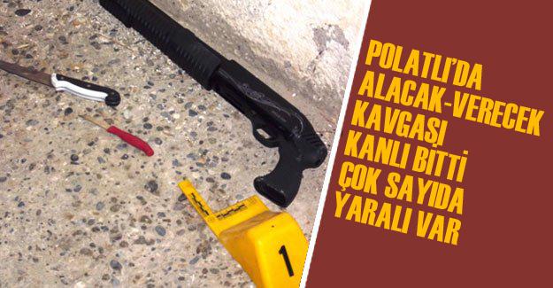 Üçpınar'da silahlı çatışma: 2 yaralı