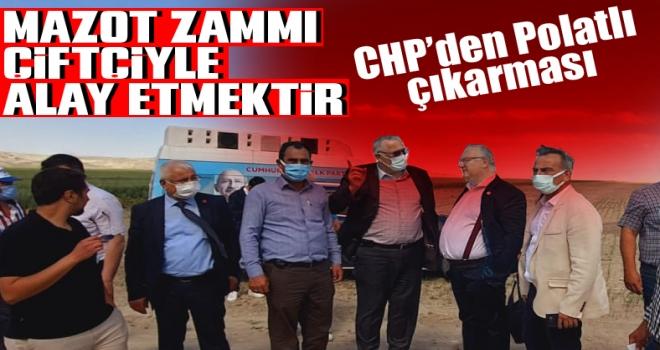 CHP'den çiftçi sorunları için Polatlı çıkarması!