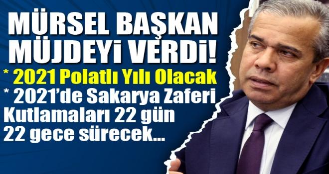 Başkan Yıldızkaya: 2021 Polatlı Yılı Olacak!