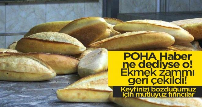Polatlı'da ekmek fiyatlarında flaş gelişme!