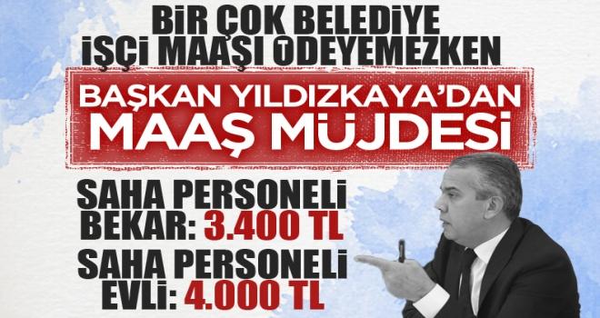 Polatlı Belediye Başkanı Mürsel Yıldızkaya işçi maaşlarını duyurdu!