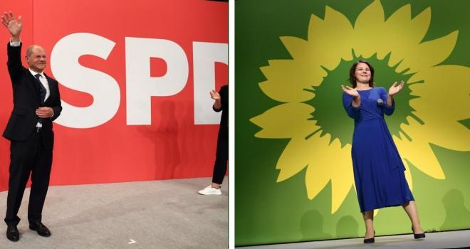 Almanya'da seçim: SPD arayı açıyor, CDU/CSU ile fark yüzde 1,6'ya çıktı