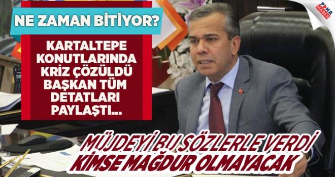 Başkan Yıldızkaya Müjdeyi Verdi: Kartaltepe Konutları Yeniden İhaleye Çıkıyor