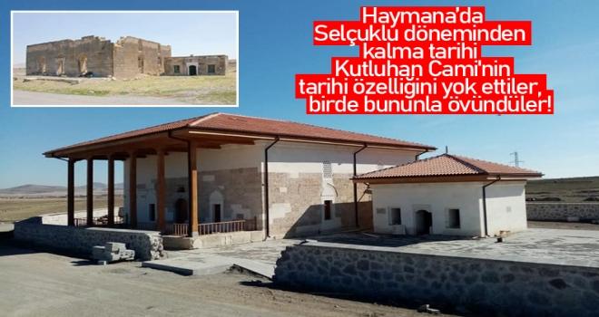 Tarihi Kutluhan Cami, Tarih Olmaktan Çıktı!