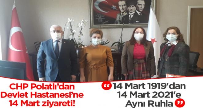 CHP Polatlı'dan 14  Mart Ziyaretleri!