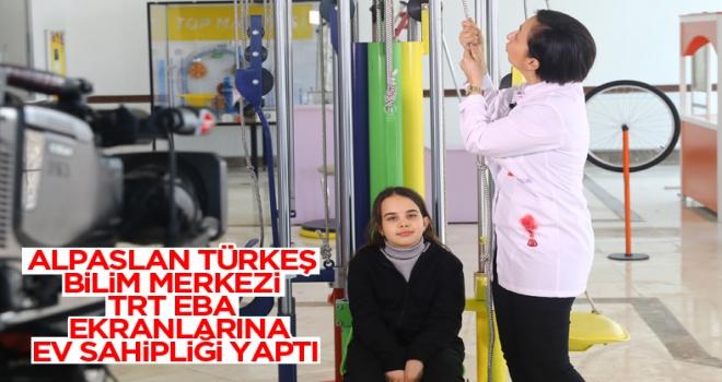 TRT Alpaslan Türkeş Bilim Merkezi'ni Tercih Etti