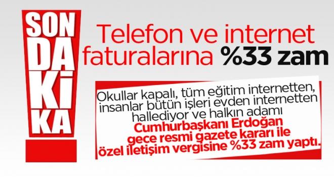 Müjdeler olsun! Cumhurbaşkanı Erdoğan imzaladı: Telefon ve interneti yüzde 33 daha pahalı kullanacağız