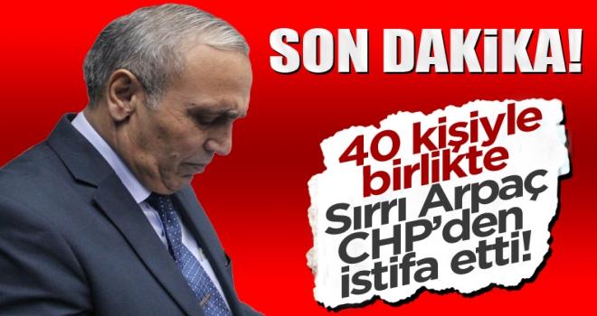 CHP Polatlı Belediye Meclis Üyesi Sırrı Arpaç, istifa etti!