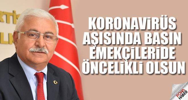 CHP Polatlı: Gazeteciler Aşıda Öncelikli Olsun!