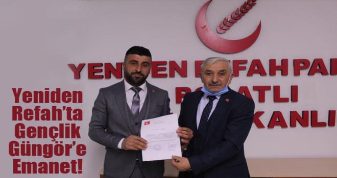 Polatlı Yeniden Refah Partisi Gençlik Kolları Başkanı Gökhan Güngör oldu!