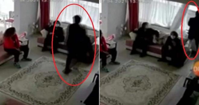 Baba yakalandı, bebek anneye teslim edildi