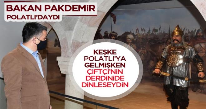 Tarım ve Orman Bakanı Pakdemir'li Polatlı'daydı!
