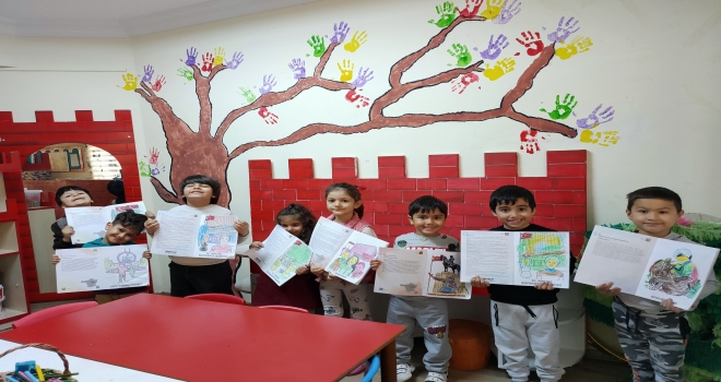 Ankara Kent Konseyinden Çocuklara 'Boya Boya Ankara'