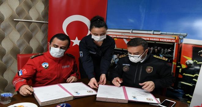 Ankara İtfaiyesi TAMGA ile Birlikte Çalışacak
