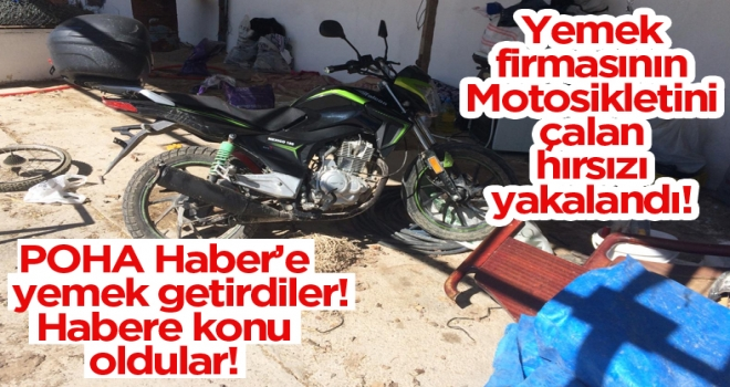 Polatlı'da motosiklet hırsızı yakalandı!