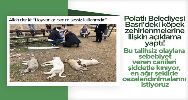 Polatlı Belediyesi'nden Basri açıklaması!