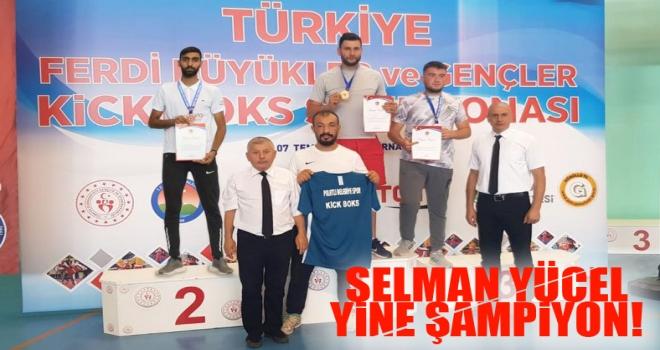 Polatlı'nın evladı Selman Yücel Şampiyonluklarına bir yenisini daha ekledi!
