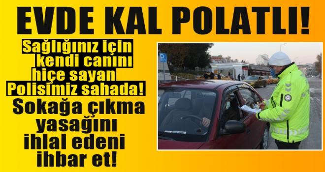 Polatlı'da polis denetimlerine devam ediyor