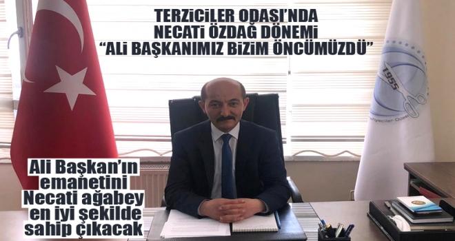 Polatlı Terziler Tuhafiyeciler ve Konfeksiyoncular Odası Başkanı Necati Özdağ oldu!