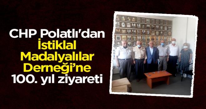 CHP Polatlı'dan İstiklal Madalyalılar Derneği'ne 100. yıl ziyareti