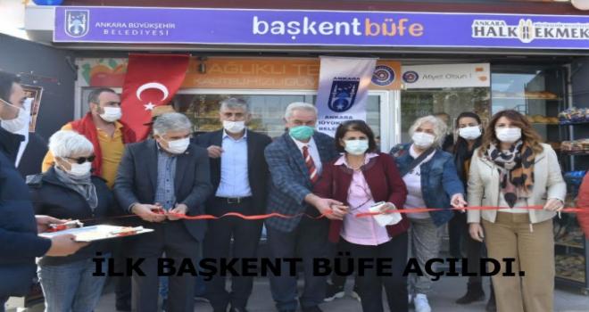 Başkent Market'ten Sonra Başkent Büfe'de Açıldı