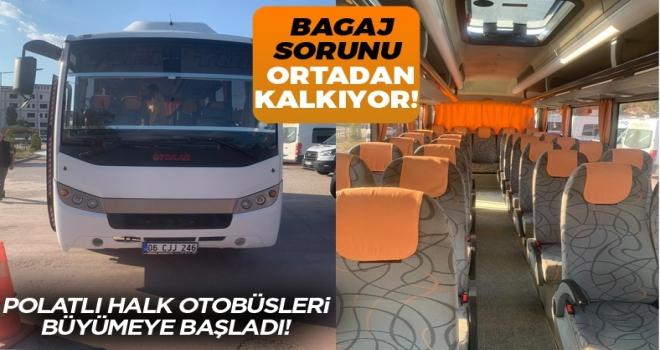 Polatlı-Ankara Otobüsleri Büyümeye Başladı!