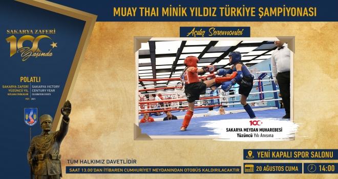 Türkiye Muay-Thai Minikler ve Yıldızlar Şampiyonası Polatlı'da Başlıyor!