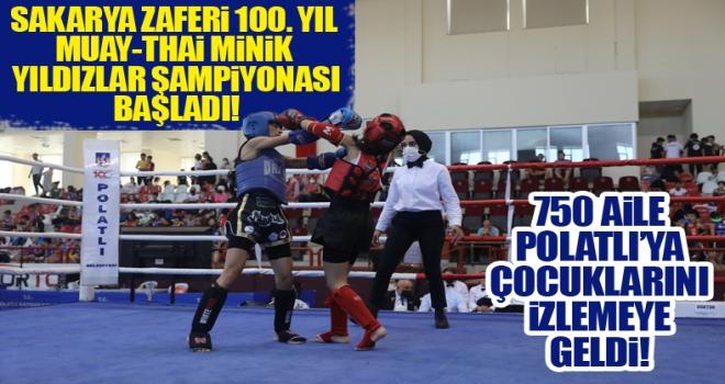 Türkiye Muay-Thai Minikler ve Yıldızlar Şampiyonası Polatlı'da Başladı!