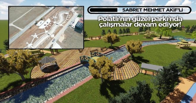 Mehmet Akif Mahallesi Parkı'nda çalışmalar sürüyor!