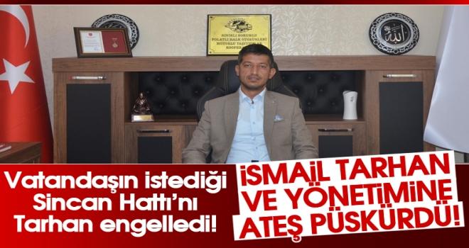 Başkan Erdal Çınar: Ben böyle bir oda başkanını kabul etmiyorum!