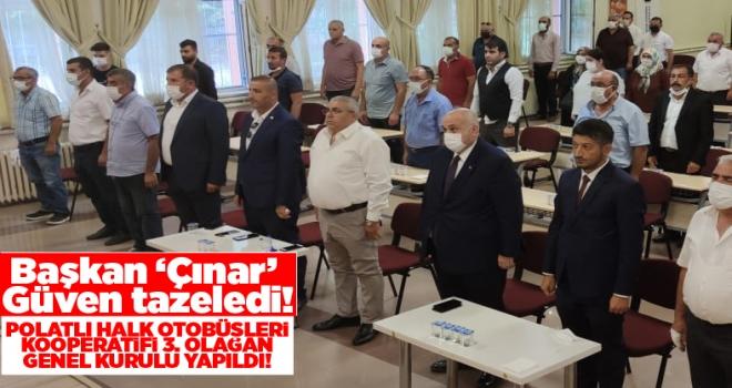 Erdal Çınar, Kooperatif Başkanlığına 3. defa yeniden seçildi