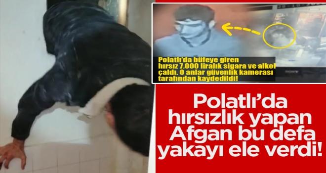 Polatlı'da iki işyerini soyan hırsız yakalandı!