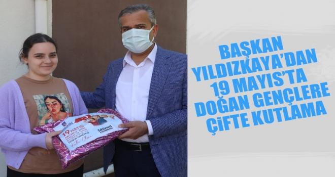 Polatlı Belediye Başkanı Yıldızkaya'dan 19 Mayıs'ta doğan gençlere çifte kutlama