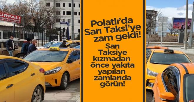 Polatlı'da taksimetreler 5 liradan açılacak