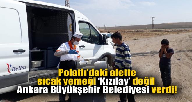 Mansur Yavaş, Polatlı'daki yaraları sarıyor!