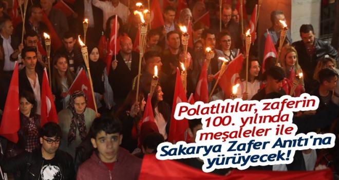 Polatlılılar, zaferin 100. yılında meşaleler ile Sakarya Zafer Anıtı'na yürüyecek!