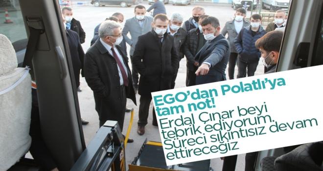 EGO'nun 2 üst düzey yetkilisi Polatlı'ya geldi!