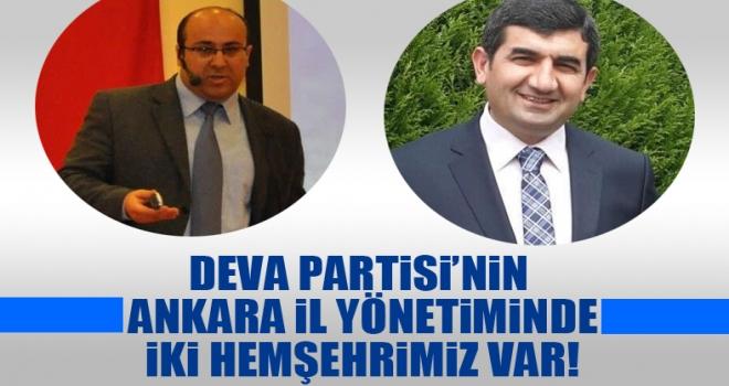 DEVA Partisi Ankara'da Polatlılı iki isim var!