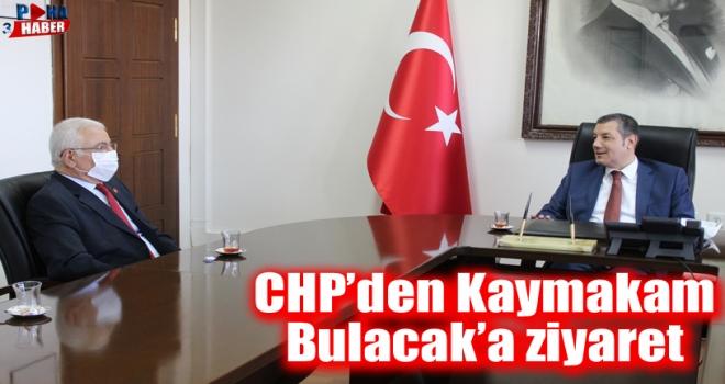 CHP'den Kaymakam Bulacak'a 'Hayırlı Olsun' Ziyareti