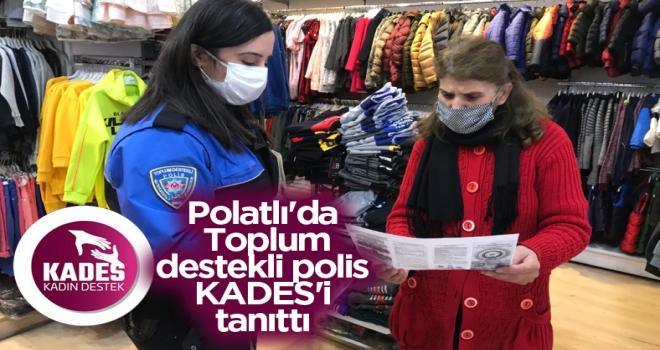 Polatlı'da toplum destekli polis, KADES'i tanıttı