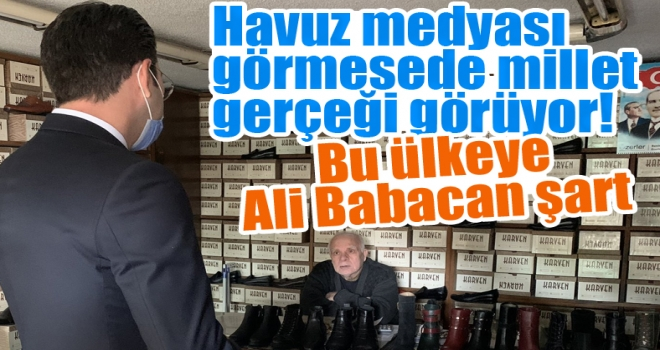Esnaftan Ali Babacan'a övgü dolu sözler: Ali bu ülkeye şart!