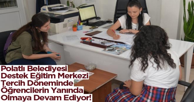 Polatlı Belediyesi Destek Eğitim Merkezi Tercih Döneminde Öğrencilerin Yanında Olmaya Devam Ediyor!